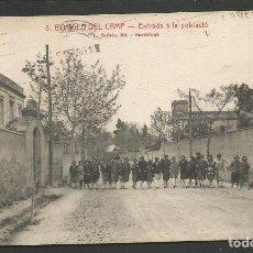 Postales: BORGES DEL CAMP - ENTRADA A LA POBLACIO - 5 - ROISIN - (53.440). Lote 136737414