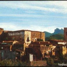 Postales: 3291- SANTA PAU (GERONA).- VISTA PARCIAL I CASTELL DE BARBARÁ. Lote 136814386