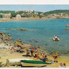 Postales: PALAMÓS - GIRONA - COSTA BRAVA - LA FOSCA - Nº25 ESCUDO DE ORO - ESCRITA. Lote 136818582