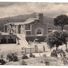 Postales: SAN HILARIO SACALM - GERONA - CASTILLO MARSANS- Nº21 - EDICIONES BOSCH - ESCRITA. Lote 137122302