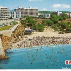 Postales: == A1028 - POSTAL - COSTA DORADA - TARRAGONA - SALOU - PLAYA DE LAZARETO. Lote 137163834