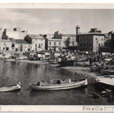 Postales: PS8028 LA ESCALA. POSTAL FOTOGRÁFICA. FOTO SANS. CIRCULADA. 1948. Lote 137366198
