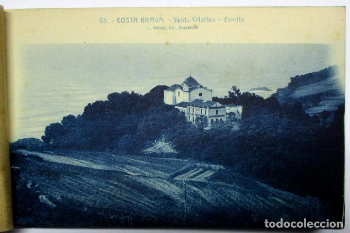 Postales: COSTA BRAVA. ERMITA DE SANTA CRISTINA (GIRONA), CARPETILLA CON 18 POSTALES ANTIGUAS. POSTALES-0040 - Foto 4 - 137494470