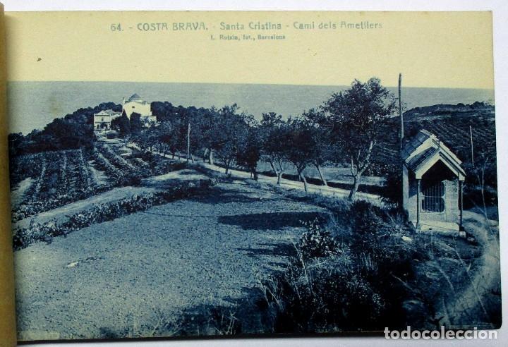 Postales: COSTA BRAVA. ERMITA DE SANTA CRISTINA (GIRONA), CARPETILLA CON 18 POSTALES ANTIGUAS. POSTALES-0040 - Foto 5 - 137494470