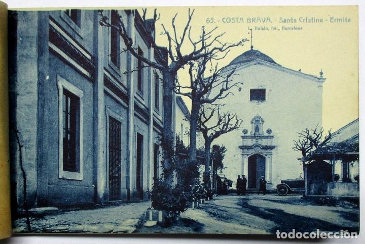 Postales: COSTA BRAVA. ERMITA DE SANTA CRISTINA (GIRONA), CARPETILLA CON 18 POSTALES ANTIGUAS. POSTALES-0040 - Foto 6 - 137494470