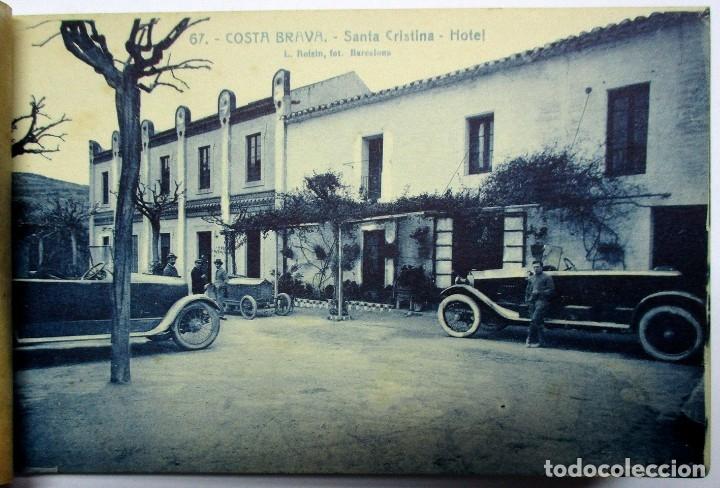 Postales: COSTA BRAVA. ERMITA DE SANTA CRISTINA (GIRONA), CARPETILLA CON 18 POSTALES ANTIGUAS. POSTALES-0040 - Foto 8 - 137494470