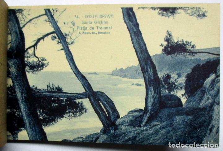 Postales: COSTA BRAVA. ERMITA DE SANTA CRISTINA (GIRONA), CARPETILLA CON 18 POSTALES ANTIGUAS. POSTALES-0040 - Foto 15 - 137494470