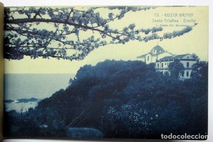 Postales: COSTA BRAVA. ERMITA DE SANTA CRISTINA (GIRONA), CARPETILLA CON 18 POSTALES ANTIGUAS. POSTALES-0040 - Foto 16 - 137494470