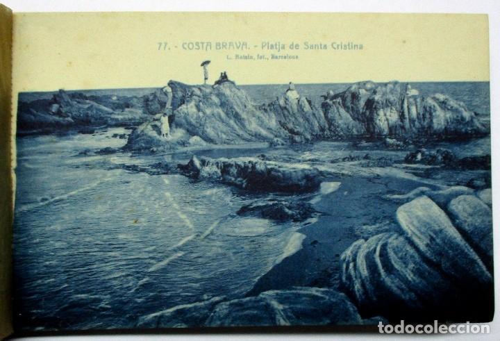 Postales: COSTA BRAVA. ERMITA DE SANTA CRISTINA (GIRONA), CARPETILLA CON 18 POSTALES ANTIGUAS. POSTALES-0040 - Foto 17 - 137494470