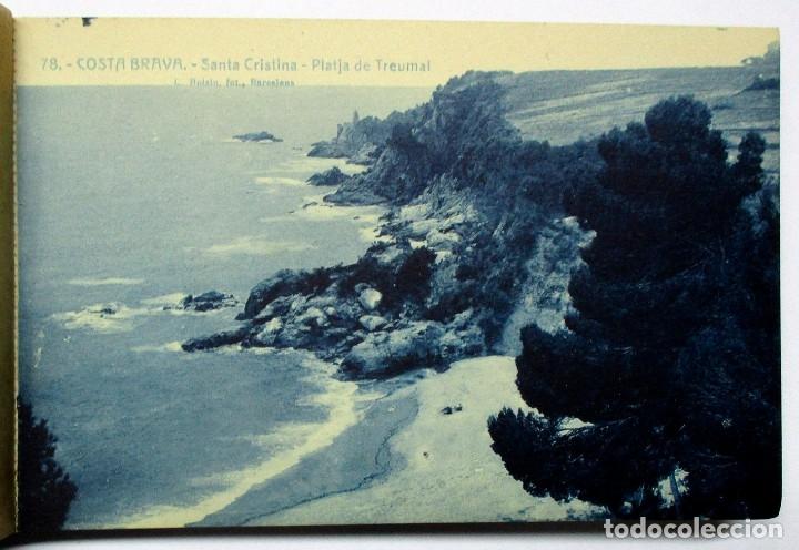 Postales: COSTA BRAVA. ERMITA DE SANTA CRISTINA (GIRONA), CARPETILLA CON 18 POSTALES ANTIGUAS. POSTALES-0040 - Foto 18 - 137494470
