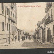 Postales: MONTBLANC - CARRER D'AGUILÓ - 3 - THOMAS - (53.577). Lote 137659502