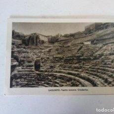 Cartes Postales: BJS.TEATRO ROMANO. SIN USAR.. EDICIONES. DE ARTE.N25.. Lote 137704394