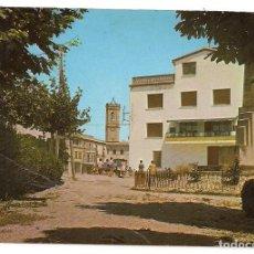 Postales: TORREGROSA - LÉRIDA/ LLEIDA - PARQUE MUNICIPAL Y PLAZA CANALEJAS AL FONDO - Nº1 - ESCRITA. Lote 137931690