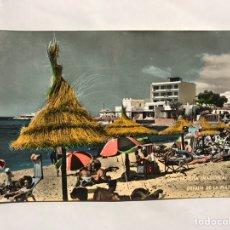 Postales: CAN PASTILLA (MALLORCA) POSTAL NO.1579, DETALLE DE LA PLAYA. EDITA: ZERKOWITZ (A.1962). Lote 138007998