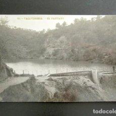 Postales: POSTAL FOTOGRÁFICA. BARCELONA. VALLVIDRIERA. EL PANTANO. CIRCULADA. AÑO 1907. . Lote 138096274