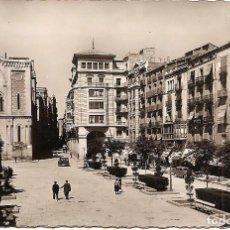 Postales: LÉRIDA - PLAZA DE ESPAÑA - EDICIONES GARCÍA GARRABELLA - SIN CIRCULAR. Lote 138264898