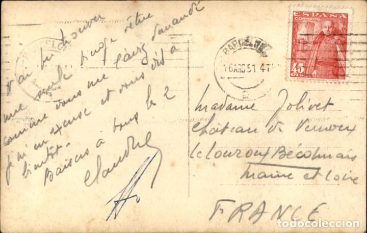 Postales: Barcelona 136 Catedral – Nave del Evangelio – Zerkowitz – Circulada - Foto 2 - 138880858