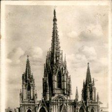 Postales: BARCELONA – 9 – LA CATEDRAL - ZERKOWITZ - CIRCULADA. Lote 138881166