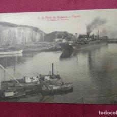 Postales: ANTIGUA POSTAL . SAN FELIU DE GUIXOLS. Nº 5. PUERTO. ROISIN. Lote 138915990