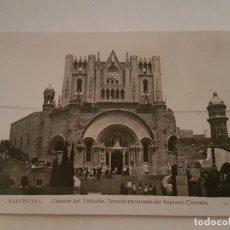 Postales: BARCELONA CUMBRE DEL TIBIDABO. Lote 138986230