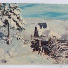 Cartoline: PIRINEOS ORIENTALES. LA MOLINA - (ALTA CERDAÑA)ESTACIÓN DEL FERROCARRIL TRASALPIRENAICO. CIRCA: 1955. Lote 139031545