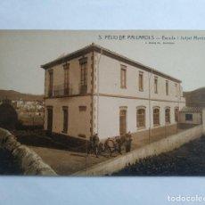 Postales: SANT FELIU DE PALLAROLS ESCOLA I JUTJAT MUNICIPAL PALLEROLS. Lote 139082586