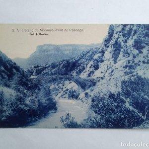 SANT LLORENÇ DE MORUNYS Pont de Vallonga Foto J.Rovira