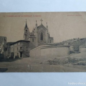 TORRELLAS DE LLOBREGAT La iglesia TORRELLES