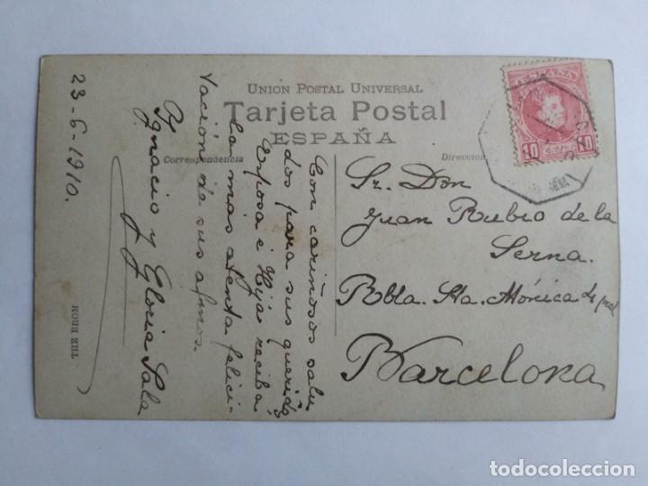 Postales: 1910 La Garriga. Calle Bonaire. Postal circulada en 1910 - Foto 3 - 139086514
