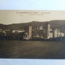 Postales: 1922 MONASTERIO DE POBLET CIRCULADA VER FOTOS. Lote 139086966