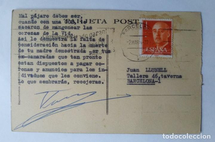 Postales: 1922 Monasterio de Poblet Circulada ver fotos - Foto 2 - 139086966