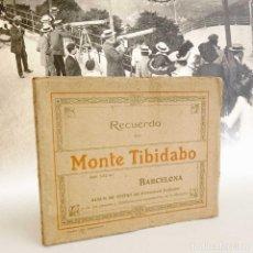 Postales: MONTE TIBIDABO ÁLBUM DE VISTAS. AÑOS 20-30. Lote 139165622