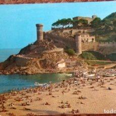 Postales: TOSSA DE MAR - GIRONA. Lote 139280098
