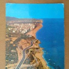 Postais: POSTAL VISTA AEREA CALELLA DE MAR CIRCULADA (BARCELONA). Lote 139299726