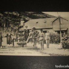 Postales: VALLE DE ARAN LERIDA LLEIDA CASINO DU PONT DU ROY. Lote 139331718
