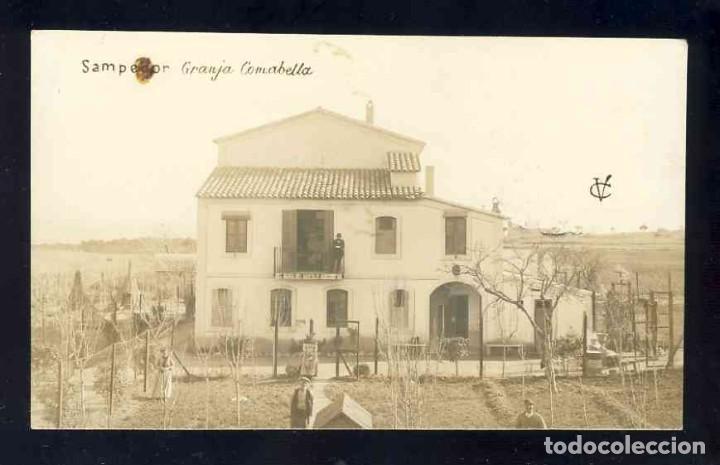 POSTAL DE SANTPEDOR: GRANJA COMABELLA. FOTOGRAFICA ANTIGA. (VC Ó CV) (Postales - España - Cataluña Antigua (hasta 1939))