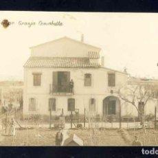 Postales: POSTAL DE SANTPEDOR: GRANJA COMABELLA. FOTOGRAFICA ANTIGA. (VC Ó CV). Lote 139336502