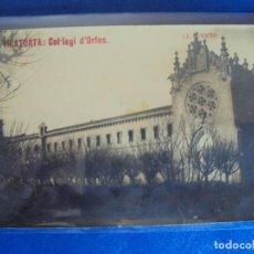 Postales: (PS-58092)POSTAL FOTOGRAFICA DE VILATORTA-COL-LEGI D´ORFES. Lote 139432470