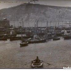 Postales: BARCELONA -ENTRADA DEL PUERTO-- LB Nº 48- BARTRINA- 1910- FOTOGRÁFICA-RARA. Lote 139599514