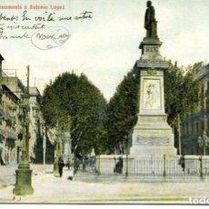 Postales: BARCELONA-MONUMENTO A ANTONIO LÓPEZ-- THOMAS-LB- SIN DIVIDIR. Lote 139599642
