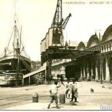 Postales: BARCELONA-MUELLES DE LA BARCELONETA-- LB Nº 50 -FOTOGRÁFICA BARTRINA- RARA. Lote 139599966
