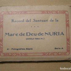 Postkarten - RECORD DEL SANTUARI DE LA MARE DE DEU DE NURIA. 21 FOTOGRAFIAS SEPIA SERIE A FOTOGRAFIA GUILERA - 139664750