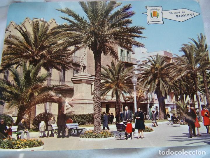 RECORD DE BADALONA - CIRCULADA FALTA SELLO- (Postales - España - Cataluña Moderna (desde 1940))