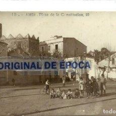 Postales: (PS-58498)POSTAL FOTOGRAFICA DE ALELLA-PLAZA DE LA CONSTITUCION.J.B.. Lote 139687398