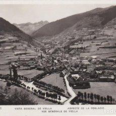 Postales: VALL D´ARAN, VISTA GENERAL DE VIELLA, LERIDA. Lote 139765994