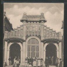 Postales: BARCELONA - FACHADA DEL APEADERO DE LA CALLE ARAGÓN - M.Z.A. - P27771. Lote 139816986