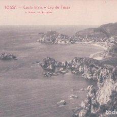 Postales: POSTAL TOSSA - COSTA BRAVA Y CAP DE TOSSA - ROISIN. Lote 139880818