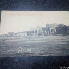 Postales: POSTAL DE VENDRELL. PLAYA DE SAN SALVADOR. LEVANTE. Lote 139930504