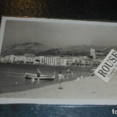 Postales: PORT DE LA SELVA ( COSTA BRAVA ) 15 PLAYA - FOTOS MELI - 14X9 CM. . Lote 139942754