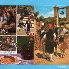 Postales: TRES POSTALES CATALUÑA TIPICA VER FOTOS. Lote 139946486
